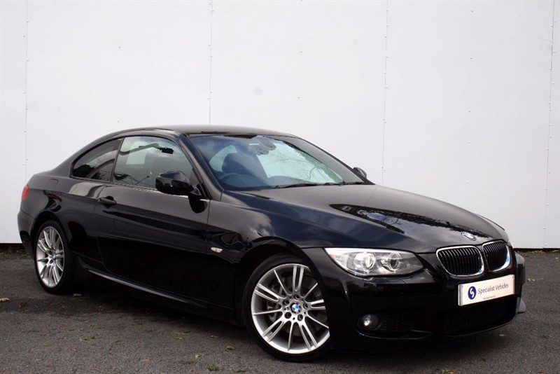 """used BMW 335d M Sport~PRO SATNAV~FULL LEATHER~18""""s~PRIVACY~BLUETOOTH~USB~PDC~NICE HISTORY in plymouth-devon"""