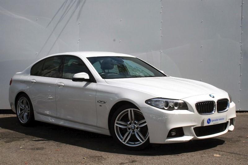 "used BMW 520d M Sport ~ SAT NAV~HEATED LEATHER~19"" ALLOYS~HARMAN KARDON~SERVICE PACKAGE in plymouth-devon"