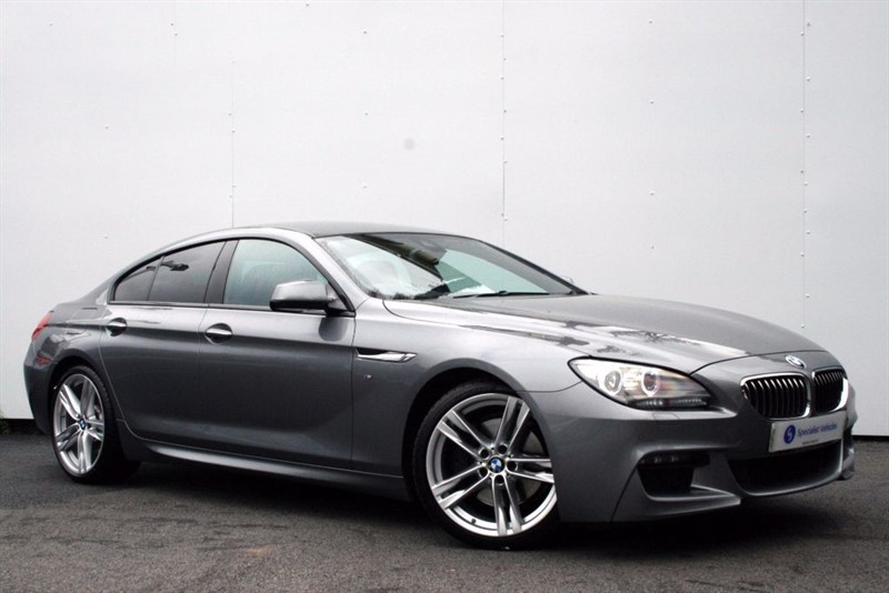 used BMW 640d M Sport Gran Coupe ~ COMFORT SEATS~SOFT CLOSING DOORS~ BMW HISTORY in plymouth-devon