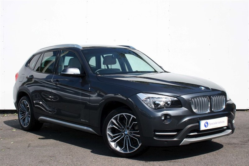 """used BMW X1 sDrive18d xLine ~ HEATED LEATHER~18"""" ALLOYS~COMFORT PACK~BLUETOOTH~DAB~PDC in plymouth-devon"""