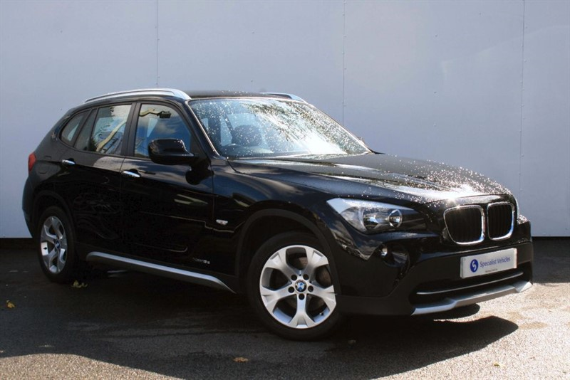used BMW X1 xDrive18d SE ~FULL LEATHER~X-LINE DESIGN PACK~BMW SERVICE HISTORY in plymouth-devon