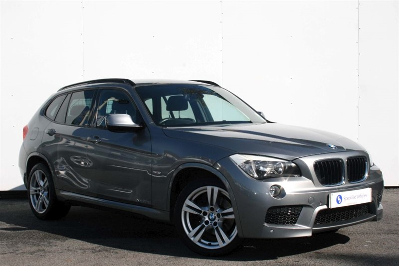 """used BMW X1 xDrive 20d M Sport~18"""" ALLOYS~ HEATED LEATHER~PDC~CRUISE CONTROL in plymouth-devon"""