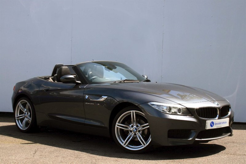 """used BMW Z4 sDrive20i M Sport ~ HEATED LEATHER~19"""" ALLOYS~COMFORT PACK~CRUISE~BLUETOOTH in plymouth-devon"""