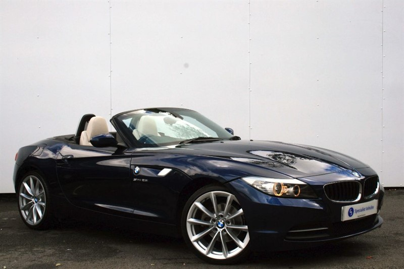 used BMW Z4 sDrive23i Roadster ~ FULL IVORY NAPPA LEATHER ~ FULL BMW SERVICE HISTORY in plymouth-devon