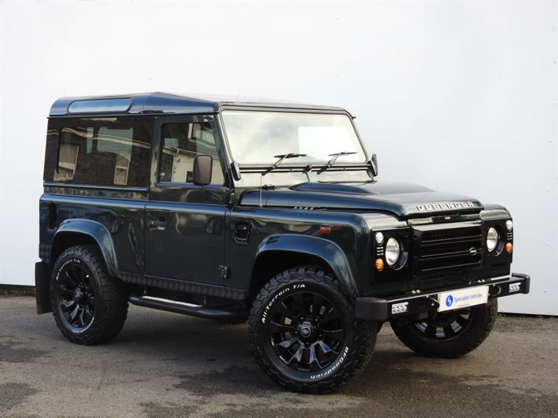 used Land Rover Defender 90 TD URBAN TRUCK ~ SPECIAL URBAN TRUCK ~ COLD CLIMATE PACK in plymouth-devon