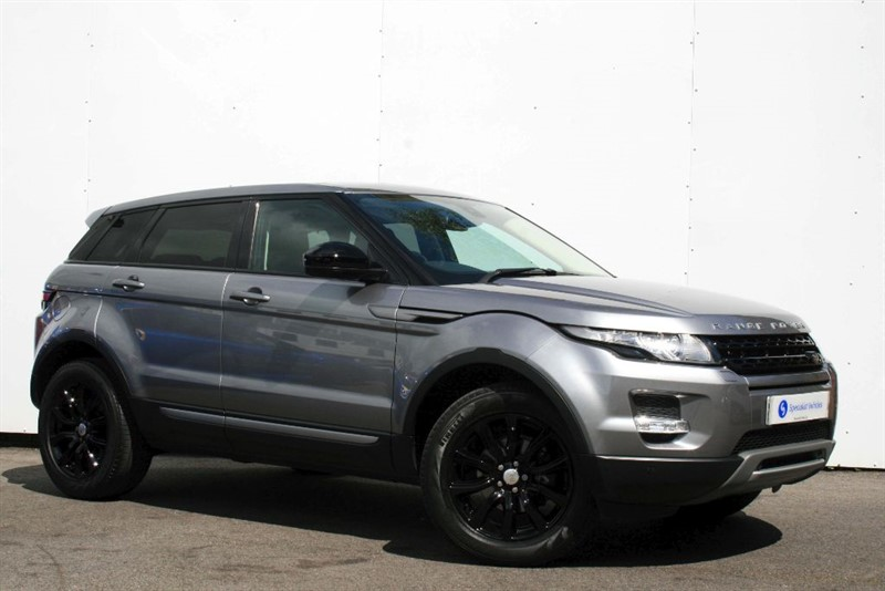 used Land Rover Range Rover Evoque SD4 Pure TECH ~ SAT NAV~HEATED LEATHER~FULL LAND ROVER HISTORY~ONLY 1 OWNER in plymouth-devon