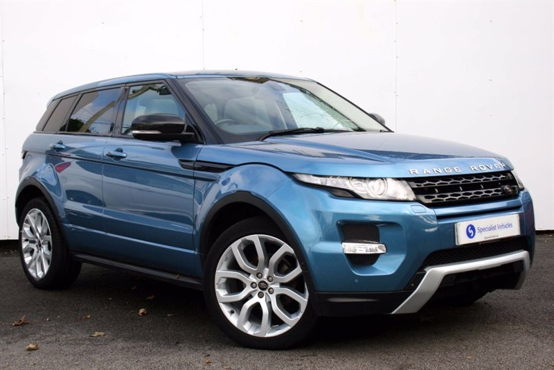 used Land Rover Range Rover Evoque SD4 Dynamic Lux ~ SATELLITE NAVIGATION ~ TV ~ ELECTRIC TAILGATE ~ DAB in plymouth-devon