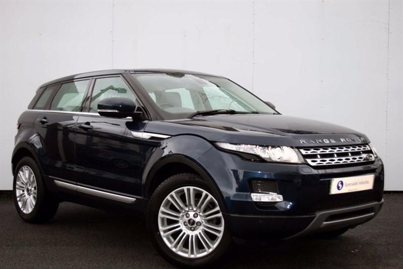 used Land Rover Range Rover Evoque SD4 Prestige ~ SATELLITE NAVIGATION ~ CRUISE ~ ELECTRIC MEMORY SEATS ~ DAB in plymouth-devon
