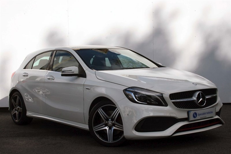 """used Mercedes A250 A-Class AMG Premium~SAT NAV~REVERSING CAMERA~19"""" ALLOYS~HEATED SEATS in plymouth-devon"""