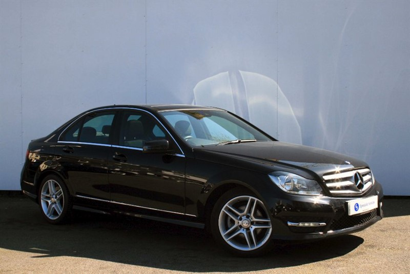 used Mercedes C250 CDI AMG Sport Edition Premium Plus ~ COMAND SAT NAV~SUNROOF~HEATED SEATS in plymouth-devon