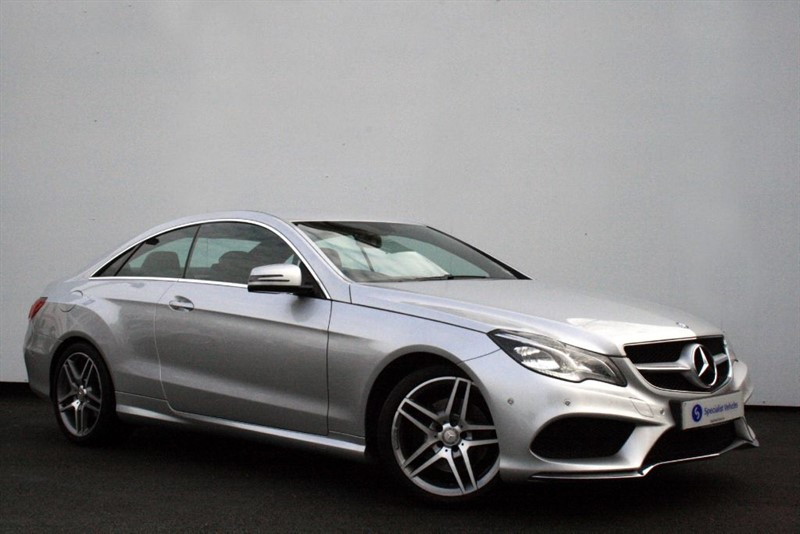 "used Mercedes E250 CDI AMG Sport - COMAND SAT NAV-FULL LEATHER-18"" ALLOYS-ONLY 1 OWNER-FMBSH in plymouth-devon"