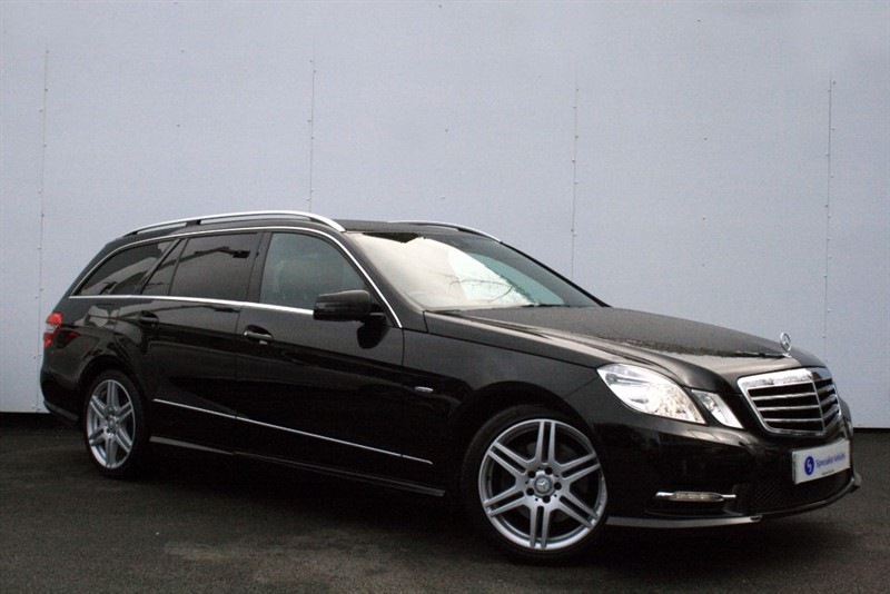"used Mercedes E350 CDI BlueEFFICIENCY Sport ~SAT NAV~HEATED LEATHER~18"" ALLOYS~ADAPTIVE XENONS in plymouth-devon"