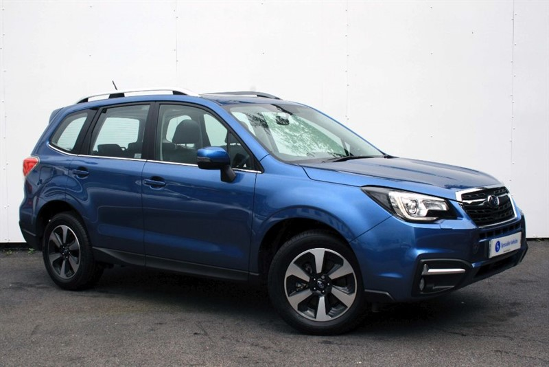 used Subaru Forester 2.0 D XC PREMIUM - SAT NAV - FULL LEATHER - CRUISE CONTROL-REVERSING CAMERA in plymouth-devon