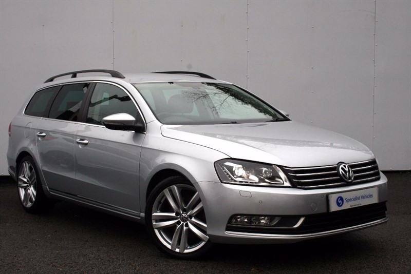 used VW Passat 2.0 TDi BM Executive Style~SATELLITE NAVIGATION~HEATED LEATHER~PDC~£30 TAX in plymouth-devon