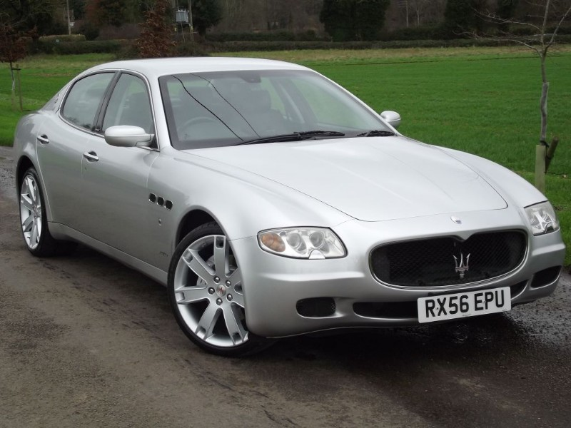 Used maserati quattroporte sport gt low miles for Porte saloon