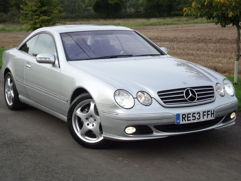 used mercedes cl500 cl 500 immaculate car pristine. Black Bedroom Furniture Sets. Home Design Ideas