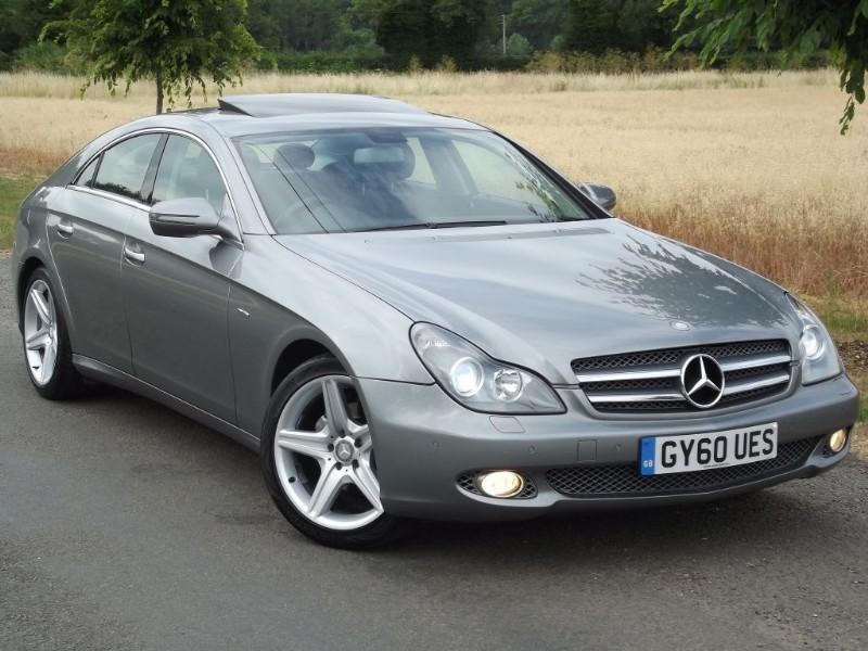 Used Mercedes Cls Cls350 Cdi Grand Edition Sat Nav Big