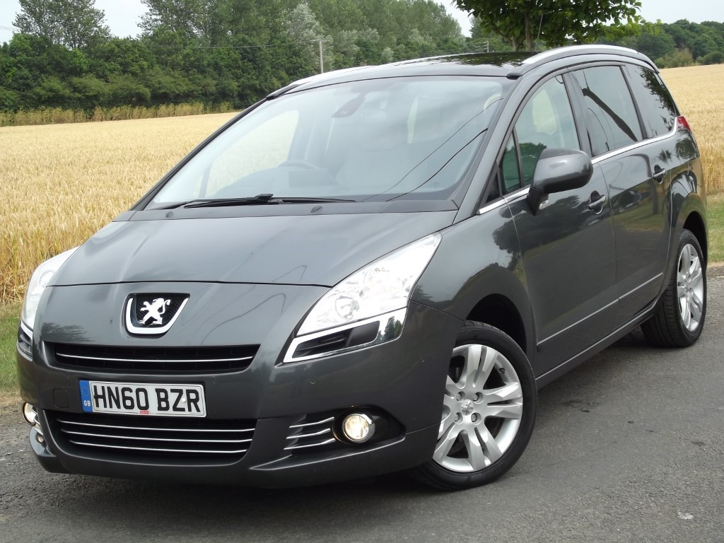 Used Peugeot 5008 Hdi Exclusive Full Leather Sat Nav