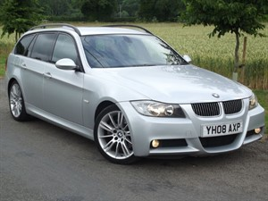 used BMW 325d M SPORT TOURING - PADDLESHIFT AUTO - PROFESSIONAL SAT NAV in oxfordshire