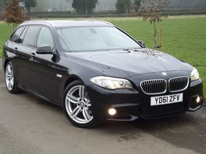 used BMW 520d M SPORT TOURING in oxfordshire