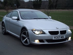 "used BMW 635d SPORT - PROFESSIONAL NAV~GLASS ROOF~20"" ALLOYS in oxfordshire"