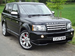 used Land Rover Range Rover Sport V8 S/C PREMIUM EDITION - GENUINE OVERFINCH CONVERSION in oxfordshire