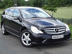 used Mercedes R320 L CDI SPORT - HUGE SPEC - KEYLESS GO - REAR DVDs in oxfordshire
