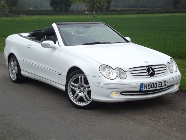 Mercedes CLK500 for sale