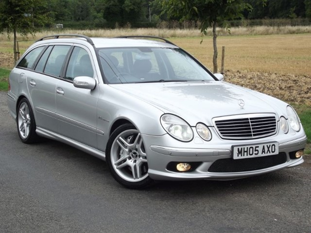 Mercedes E55 AMG for sale