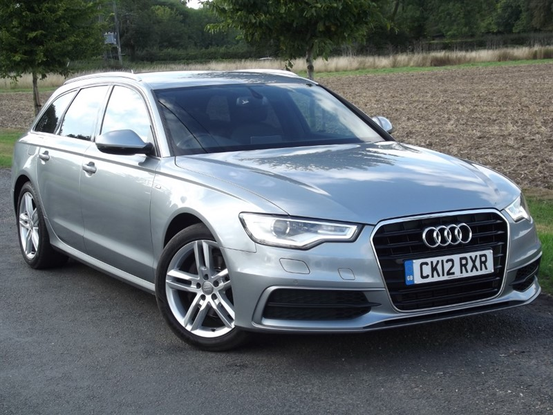 used Audi A6 Avant AVANT TDI S LINE - RARE MANUAL - FULL LEATHER in oxfordshire
