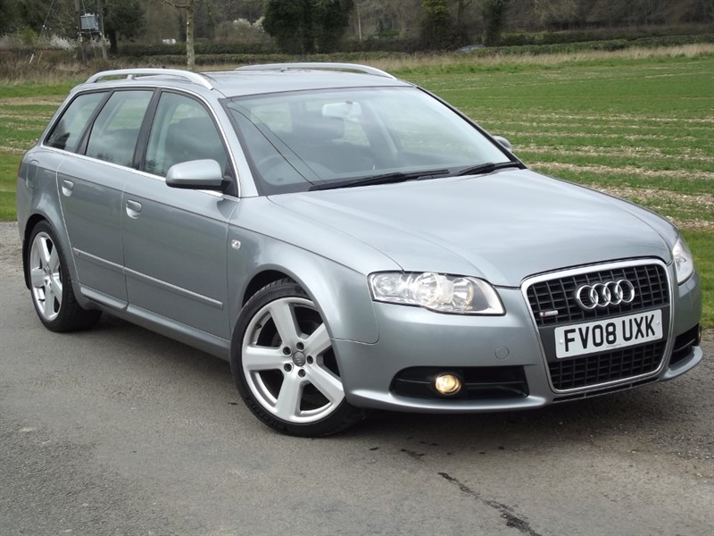 used Audi A4 TDI S LINE TDV - FULL HISTORY - LOVELY EXAMPLE in oxfordshire
