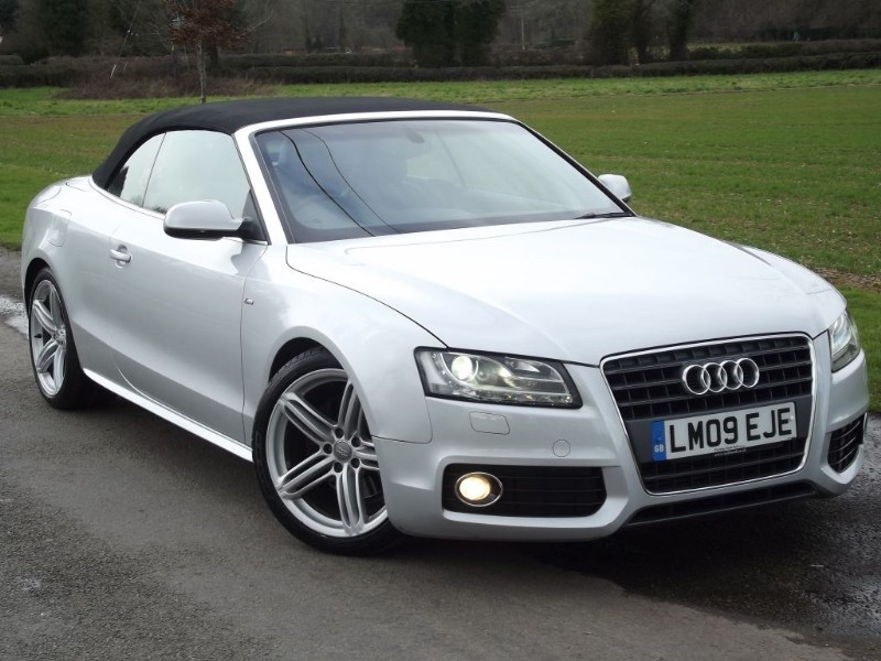 """used Audi A5 TFSI S LINE - FULL LEATHER - SAT NAV - 19"""" ALLOYS - BANG & OLUFSEN in oxfordshire"""