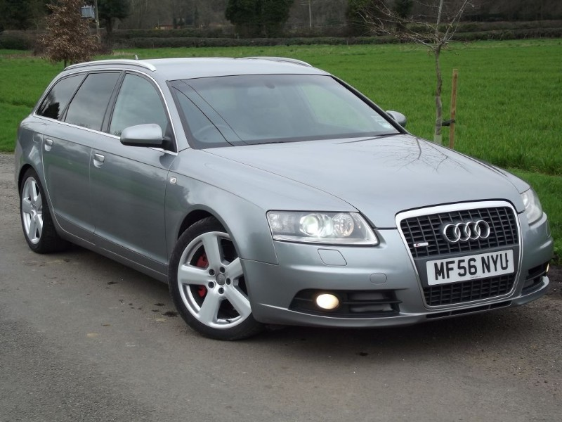 used Audi A6 TDI QUATTRO S LINE - HUGE SPEC - BOSE - SAT NAV - PRIVACY GLASS in oxfordshire