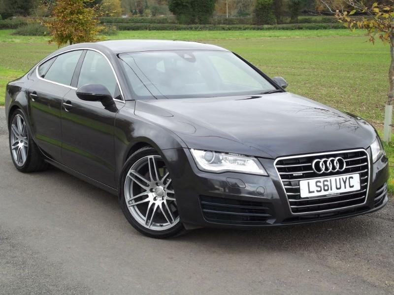 """used Audi A7 TDI QUATTRO SE - 20"""" S LINE ALLOYS - SAT NAV in oxfordshire"""