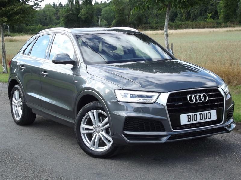used Audi Q3 TFSI QUATTRO S LINE EDITION - 1YEAR AUDI WARRANTY in oxfordshire