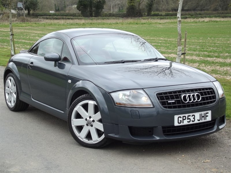 used Audi TT V6 QUATTRO - IMMACULATE EXAMPLE in oxfordshire