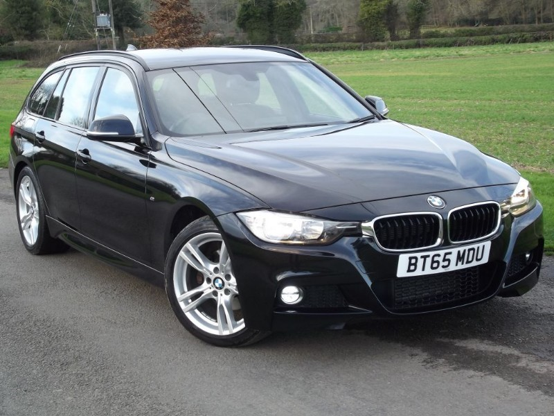 used BMW 320d M SPORT TOURING 190BHP - 1OWNER - LOW MILES - BIG SPEC in oxfordshire