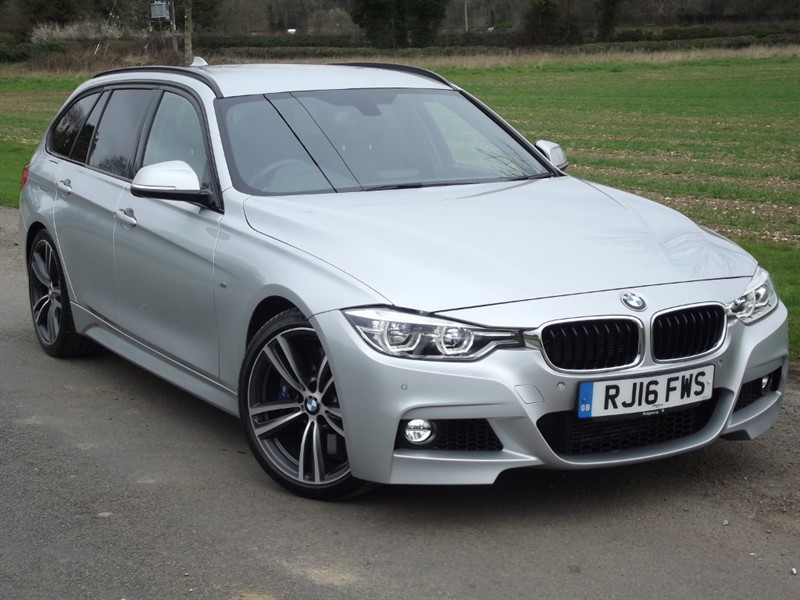 used BMW 335d XDRIVE M SPORT TOURING - 1OWNER - FULL BMW HISTORY in oxfordshire
