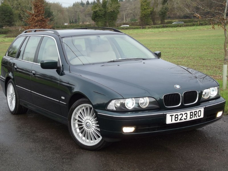 used BMW 520i SE TOURING - STUNNING CAR - CREAM LEATHER - ALPINA ALLOYS in oxfordshire