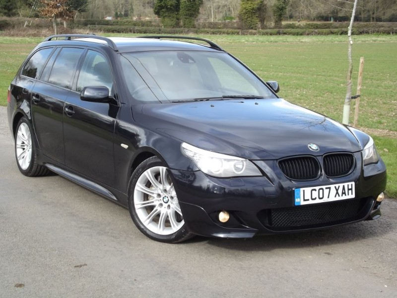 used BMW 535d M SPORT TOURING - PRO SAT NAV - STUNNING CAR in oxfordshire