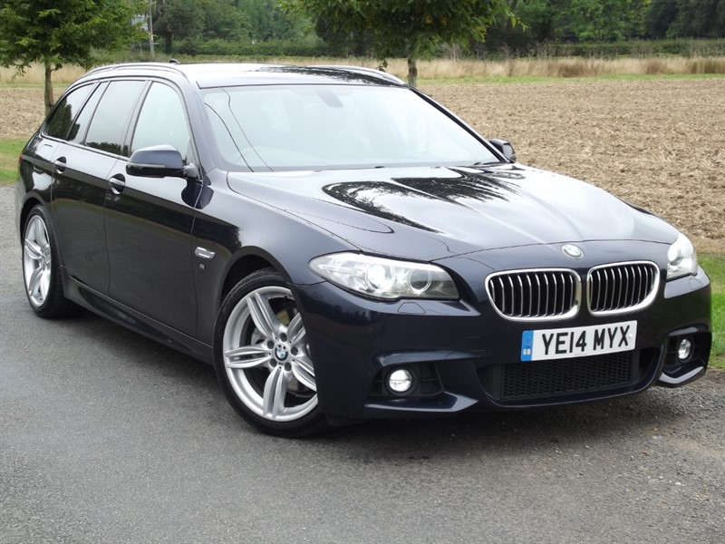 used BMW 520d M SPORT TOURING - IMMACULATE CAR - HUGE SPEC in oxfordshire