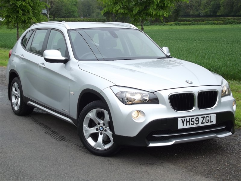 used BMW X1 XDRIVE20D SE - LOW MILES - FULL HISTORY in oxfordshire