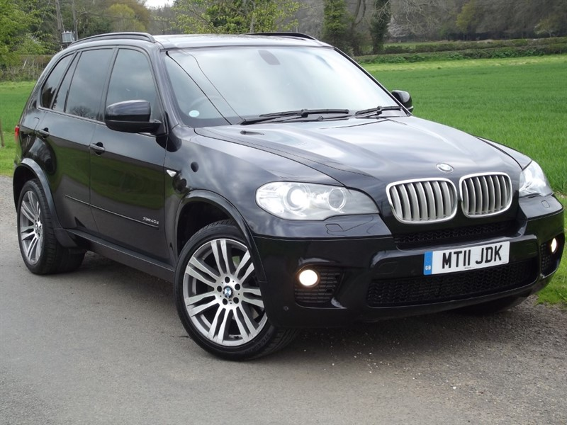 used BMW X5 XDRIVE40D M SPORT - 7SEATS - REAR DVD in oxfordshire