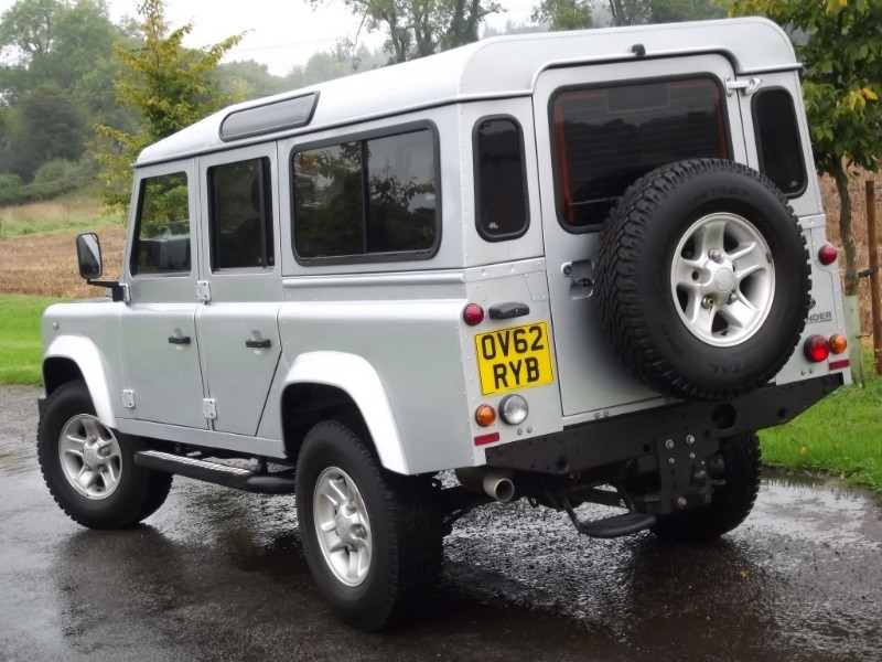 used land rover defender 110 td xs station wagon air con. Black Bedroom Furniture Sets. Home Design Ideas