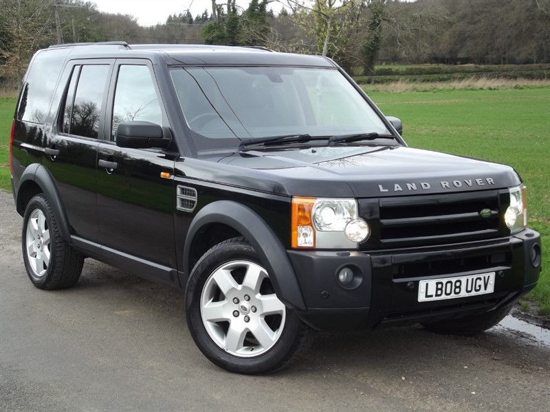 used Land Rover Discovery TDV6 HSE - BLACK - PRIVACY GLASS - TV/DVD in oxfordshire