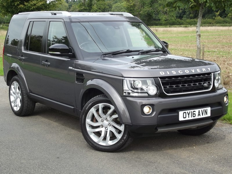 used Land Rover Discovery SDV6 LANDMARK - IMMACULATE 1 OWNER CAR in oxfordshire