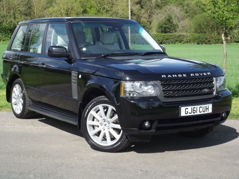 used Land Rover Range Rover TDV8 VOGUE SE - BLACK with CREAM - STUNNING CAR in oxfordshire