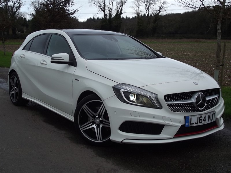 used Mercedes A250 4MATIC ENGINEERED BY AMG in oxfordshire