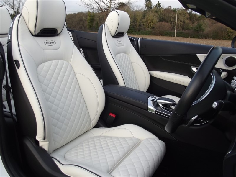 used Mercedes C220 AMG LINE - UNIQUE DESIGNO INTERIOR in oxfordshire