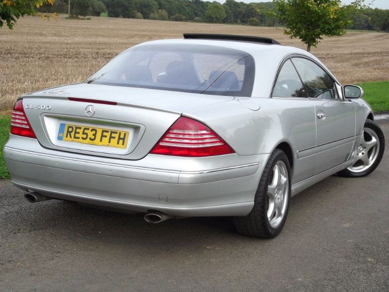 Used Mercedes CL500 CL 500 IMMACULATE CAR - PRISTINE ...